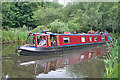 NS9675 : Narrowboat Cruise by Anne Burgess