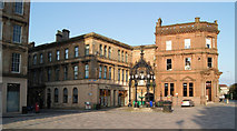 NS2876 : Cathcart Square and the Lyle Fountain by Thomas Nugent