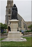 SY6879 : Statue of Queen Victoria by N Chadwick