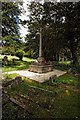 SU8294 : War Memorial, West Wycombe by Dave Hitchborne