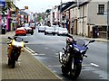 H4572 : Motorbikes, Omagh by Kenneth  Allen