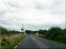 N1119 : Bord na Móna level crossing on the R357 by Eric Jones