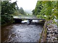 NY5002 : Bridge across the River Sprint leading to Beech Hill by Norman Caesar