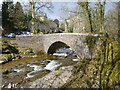 SE0186 : Bridge over Walden Beck, West Burton by Andy Waddington