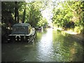 SP8041 : Grand Union Canal: Reach in Old Wolverton by Nigel Cox