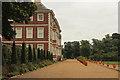 TQ1773 : Garden terrace by Richard Croft