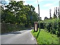 SO3301 : Phone box on Wern Lane, Glascoed by Christine Johnstone