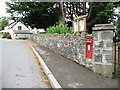 ST3398 : Victorian postbox, Coed-y-paen by Christine Johnstone