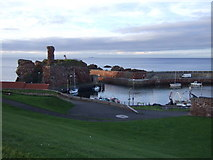 NT6779 : Castle and Victoria Harbour, Dunbar by JThomas
