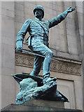SJ3490 : Statue of William Earle by William Starkey