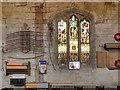 SD8706 : St Leonard's Church, North Wall by David Dixon