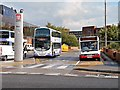 SD8010 : Buses Behind Bury Interchange by David Dixon