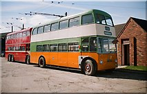 SE7408 : The Trolleybus Museum at Sandtoft - Glasgow trolleybus TB78, near Sandtoft, Lincs by P L Chadwick
