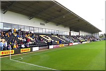 SK2524 : The Main Stand at the Pirelli Stadium by Steve Daniels
