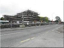 H1312 : New school, Ballinamore by Kenneth  Allen