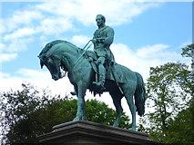 NT2473 : Prince Albert Memorial statue, Charlotte Square by kim traynor