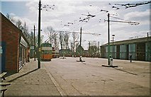 SE7408 : The Trolleybus Museum at Sandtoft - the  main area, near Sandtoft, Lincs by P L Chadwick
