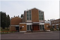 SU9567 : The Sacred Heart Roman Catholic Church, Sunningdale by Michael FORD