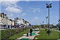 TQ8209 : Crazy golf by Ian Capper
