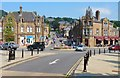 SK2960 : Road Junction, Centre of Matlock by Mike Smith