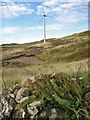 NG3836 : Ruin and a wind turbine by Richard Dorrell
