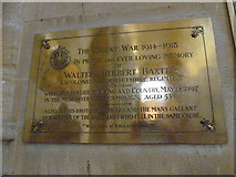 ST6316 : Sherborne Abbey: memorial (xxv) by Basher Eyre