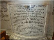 ST6316 : Sherborne Abbey: memorial (xxvi) by Basher Eyre
