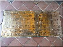 ST6316 : Sherborne Abbey: memorial (xxxii) by Basher Eyre