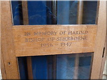 ST6316 : Sherborne Abbey: memorial (xxxix) by Basher Eyre