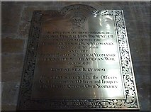 ST6316 : Sherborne Abbey: memorial (xlii) by Basher Eyre