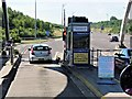 SK1302 : M6 Toll Booth, Weeford Park by David Dixon