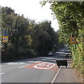 SS6295 : End of the 30mph speed limit along Cwmbach Road, Swansea by Jaggery