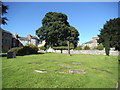 SK2853 : Church Cross by Gordon Griffiths