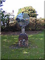 TG1617 : Felthorpe Village sign by Adrian Cable