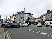 H6733 : Church Square, Monaghan by Kenneth  Allen