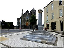 H6733 : Old Cross Monument, Old Cross Square, Monaghan by Kenneth  Allen