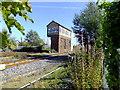SJ1581 : Mostyn Signal Box by Richard Hoare