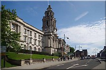 SJ8989 : Stockport Town Hall by Glyn Baker