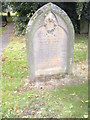 NZ1647 : A Relieving Officer's grave in Lanchester by Stanley Howe