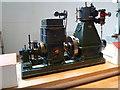 TQ2679 : Science Museum - Belliss & Morcom steam engine by Chris Allen
