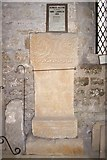 NZ1647 : A Roman Altar (AD244) in Lanchester Church by Stanley Howe