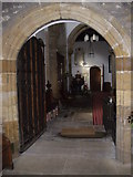 NZ1647 : Entrance to the nave of the Parish Church, Lanchester by Stanley Howe
