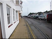 SY6878 : Weymouth Harbour Tramway by Mike Faherty