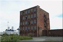 NS2776 : Glebe Sugar House Refinery (Former), Ker Street, Greenock - 2 by Terry Robinson