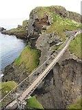 D0644 : Carrick-a-Rede Rope Bridge by Gareth James