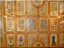 NT2573 : Painted Ceiling, Riddle's Court (1) by Anne Burgess