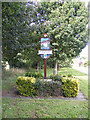 TG1915 : Horsford Village sign by Adrian Cable