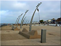 SD3035 : Lights on the Promenade, Blackpool by Brian Robert Marshall