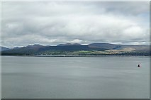 NS2982 : Helensburgh and the Arrochar Alps, viewed from P&O's Adonia, sailing into Greenock by Terry Robinson