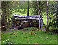 SK3255 : Derelict Carriage by Des Blenkinsopp